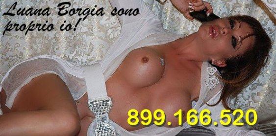 il telefono erotico di Luana Borgia